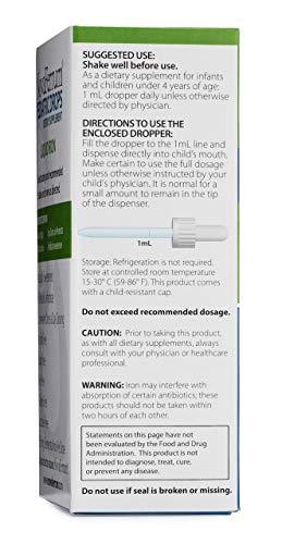 NovaFerrum Drops Liquid Iron Supplement and