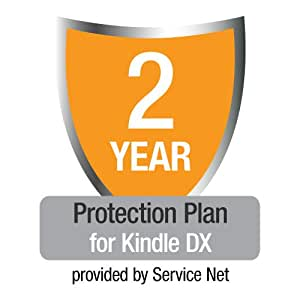 2-Year Protection Plan for Kindle DX, U.S. customers only