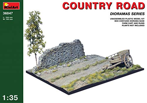 MiniArt 36047 Country Road, Dioramas 1/35 Scale Plastic Model Kit