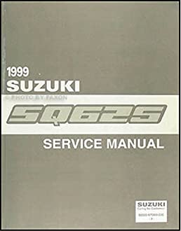 1999 suzuki grand vitara repair shop manual original suzuki amazon rh amazon com 2009 Suzuki Grand Vitara Repair Manual 2002 Suzuki Grand Vitara Repair Manual