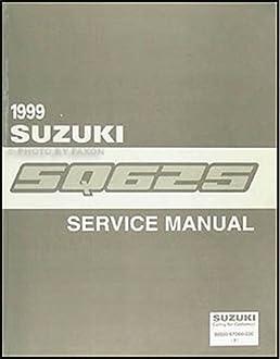 1999 suzuki grand vitara repair shop manual original suzuki amazon rh amazon com 1999 Grand Vitara Custom 1999 Grand Vitara Repair Manual