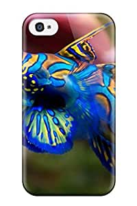 Iphone 4/4s Case Bumper Tpu Skin Cover For Synchiropus Splendidus Luc Viatour Accessories