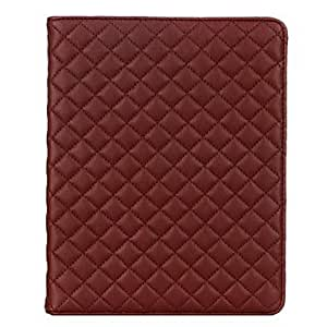 Plaid Soft Case for iPad mini ( Color : Rose )