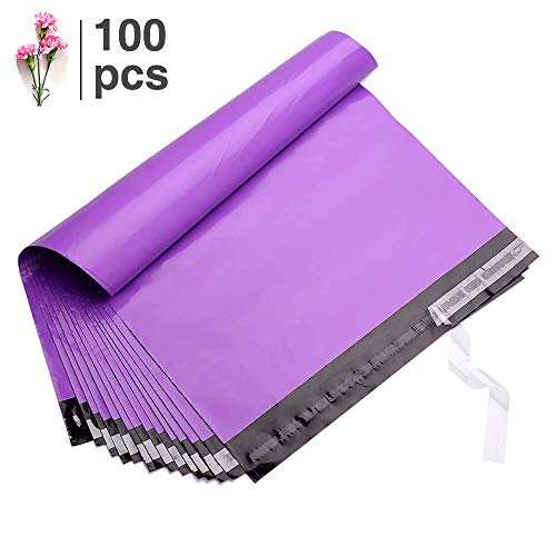 FU GLOBAL100pcs 14.5x19 Poly Mailers Shipping Envelops Boutique Custom Bags Enhanced Durability Multipurpose Envelopes Keep Items Safe & ()