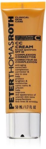Peter Thomas Roth CC Cream Broad Spectrum SPF 30 Complexion Corrector, Medium/Tan, 1.7 Fluid Ounce