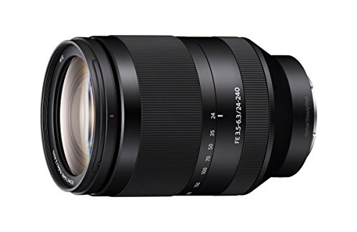 Sony FE 24-240mm f/3.5-6.3 OSS Interchangeable Full-frame E-mount Telephoto Zoom Lens – International Version (No Warranty)