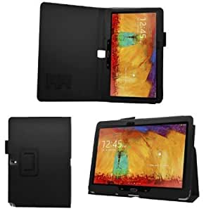 Quaroth SAMRICK - Samsung Galaxy Note 10.1 (2014 Edition) - Executive Specially Designed Leather Book Folio Wallet Case...