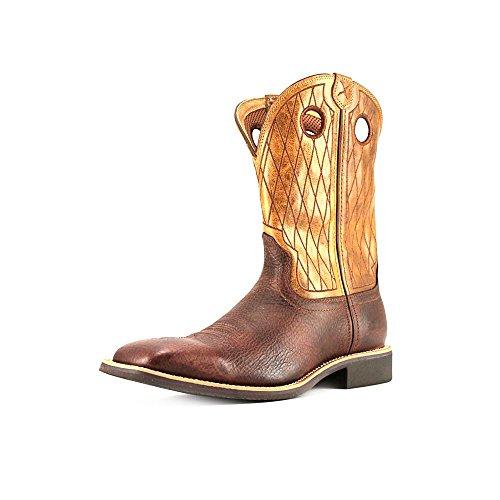 Hand Cowboy Boot Square Toe Copper 11 D(M) US ()