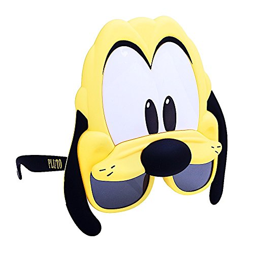 Costume Sunglasses Pluto Sun-Staches Party Favors UV400