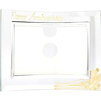 Amazon.com - Dreamair 10th Wedding Anniversary Frame (Land) (Flat ...