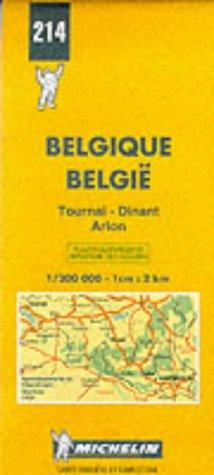 Michelin Karten, Bl.534 : Belgien Süd, Ardennen: Tournai-Dinant-Arlon (Michelin Map) (Englisch) Landkarte – Folded Map, 31. März 1999 Michelin Travel Publications Bl.534 : Belgien Süd Travel House Media 2060002141