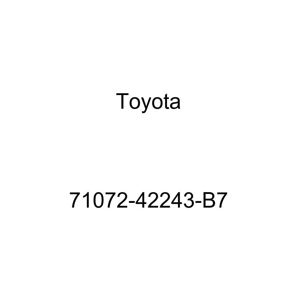 TOYOTA Genuine 71072-42243-B7 Seat Cushion Cover