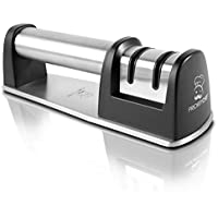 PriorityChef Knife Sharpener for Straight and Serrated...