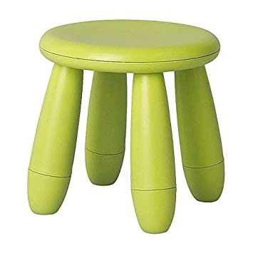 Ikea Kinderstuhl Mammut ikea kinderhocker mammut kindermöbel hocker in grün