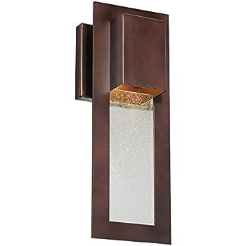 This Item Minka Lavery 72381 246, Westgate Dark Sky Outdoor Wall Sconce  Light, 35w Halogen, Bronze
