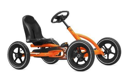 Berg Toys Ride On Kids Buddy Pedal Powered Go Kart - Orange by Berg Toys