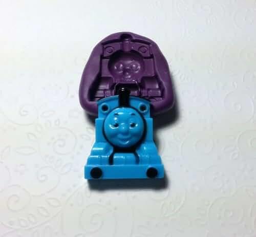 Big Thomas The Train Silicone Mold (52mm) - Cupcake Topper Decor, Sugarcrafts Fo