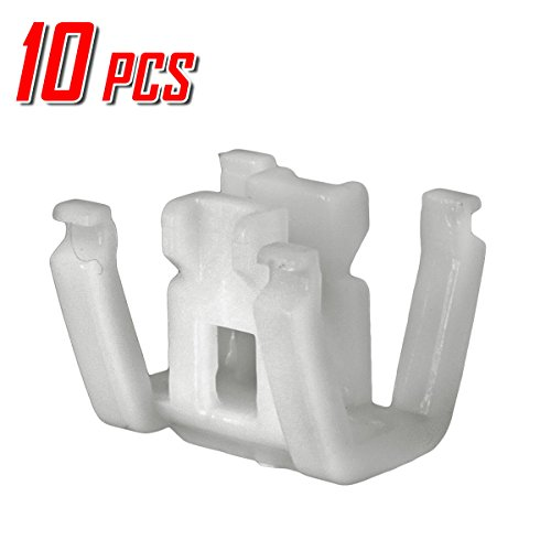 Price comparison product image PartsSquare 10x Moulding Body Side Car Retainer Clips Auto Push-Type Fastener Rivet Clamps Replacement for Honda Odyssey 2005-2016