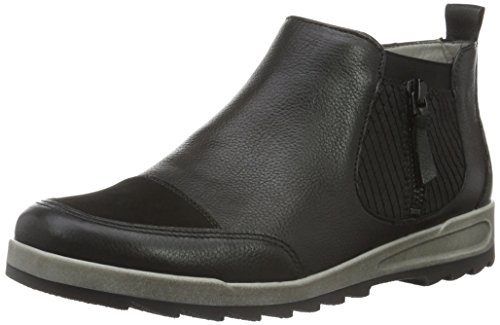boots women' Ara Leather Ara Black boots women' Black Ara Leather wpIOq66