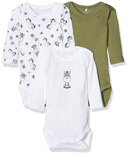 Pack of 3 Name It Baby Girls Shaping Bodysuit