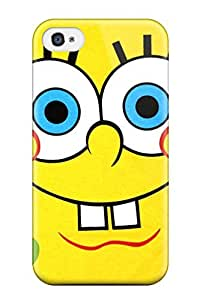 Faddish Phone Spongebob Case For Iphone 4/4s / Perfect Case Cover
