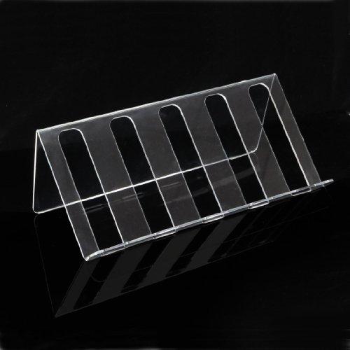 Acryl-Präsentationsständer BELLA für 5 Fl. H 18,5 x B 50 x T 24 cm