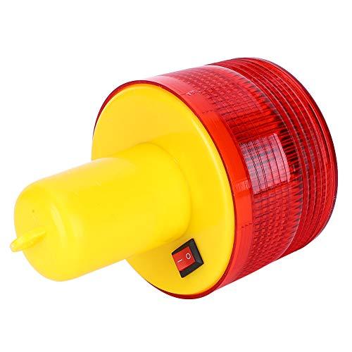 Exquisite Waarschuwingslicht, Rood Rood Noodsituatielicht 500mah 2.5W 500-1000m Kunststof gemaakt