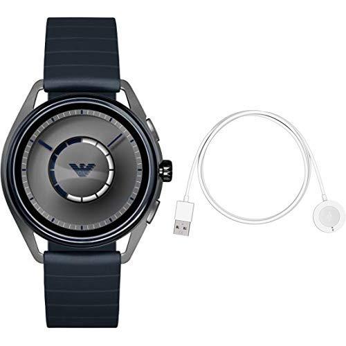 aa6b4f73bd Amazon | [エンポリオ アルマーニ]EMPORIO ARMANI 腕時計 MATTEO TOUCHSCREEN SMARTWATCH  ART5008 メンズ 【正規輸入品】 | 腕時計 | 腕時計 通販