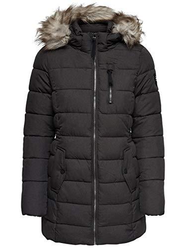 Manteau Noir Otw Cc Coat Femme Only Onlnorth Detail black melange RwxSPtnqEH