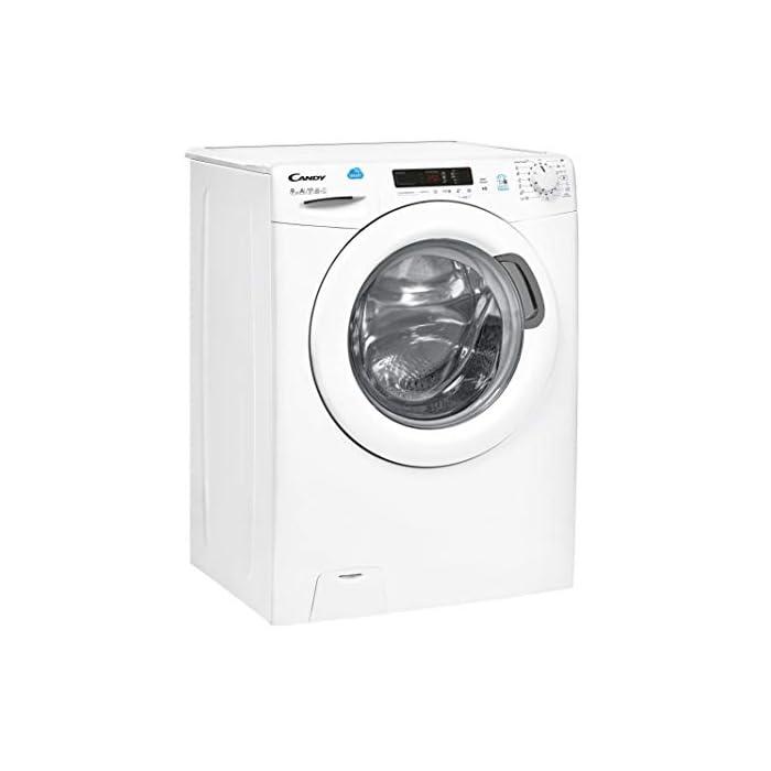 41JZeM2dfJL Haz clic aquí para comprobar si este producto es compatible con tu modelo Puerta XXL, grande y alta: Di adiós a los dolores de espalda mientras introduces y extraes la colada de la lavadora Lavadora conectada a NFC: Conecta tu lavadora con la App Simply-Fi y conecta la lavadora desde tu móvil o por órdenes de voz y descarga nuevos ciclos de lavado