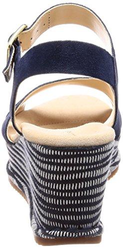 Navy Caviglia Combi Blu Sde alla Akilah Sandali con Donna Eden Cinturino Clarks naUv4qW