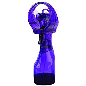 O2COOL Deluxe Misting Fan, Purple