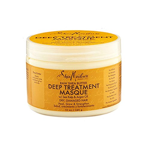SheaMoisture 12 oz Raw Shea Butter Deep Treatment Masque