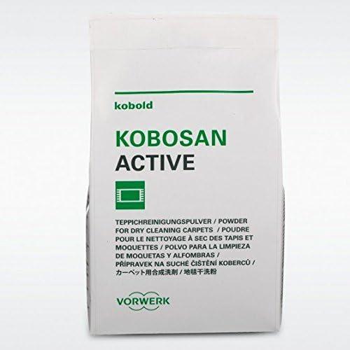 5 sobres Kobosan Active 500 g Polvo Alfombras Original