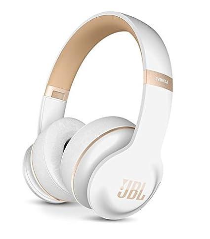 187c4b6154d Amazon.com: JBL Everest Elite 300 NXTGen Noise-Canceling Bluetooth On-Ear  Headphones (White): Electronics