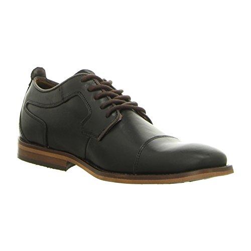 BULLBOXER 615k25230bgrbd - Zapatos de cordones de Piel Lisa para hombre black (2495)