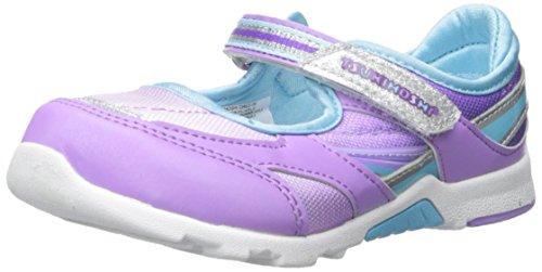 TSUKIHOSHI Girls' Glamour-K Mary Jane, Lavender/Purple, 8.5 M US Toddler