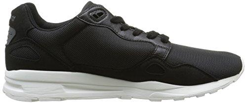 Le Coq Sportif Unisex-Erwachsene Lcs R900 Poke Sneaker Schwarz (Black/CharcoalBlack/Charcoal)