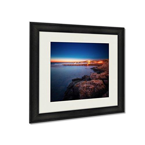 Ashley Framed Prints Ibiza Island Night View, Wall Art Home Decor, Color, 26x26 (frame size), AG5653024 by Ashley Framed Prints
