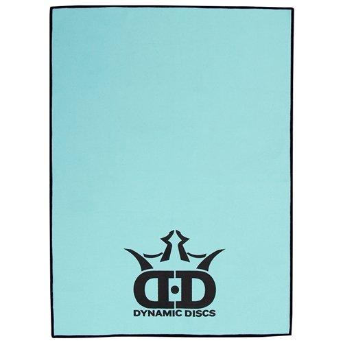 Dry Sack Golf Towel - Dynamic Discs DD Logo Logo Quick Dry Disc Golf Towel - Blue