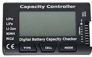 "Jrelecs® 2.1"" Screen RC Cell Meter-7 Digital Battery Capacity Checker for NiCd / NiMH / LiPo / LiFe / Li-ion"