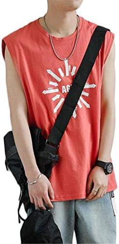 メンズ タンクトップ トレーニング ノースリーブ スポーツウェア 筋トレ 夏季対応 ノースリーブ Tシャツ ファッション アニメ柄