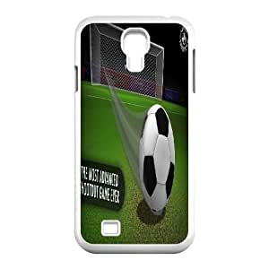 Fggcc Football Soccer ball Protective Case for SamSung Galaxy S4 I9500,Football Soccer ball S4 Case Cover (pattern 3)