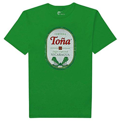 Cerveza Toña Nicaragua (colors) (L, Green)