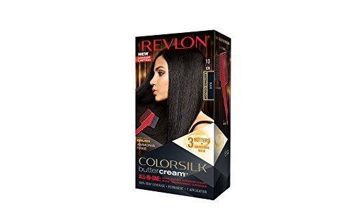 Revlon Colorsilk Buttercream Hair Dye, Black, 1 Count