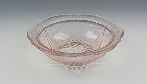 Hazel-Atlas Glass ROYAL LACE-PINK Fruit/Dessert Bowl(s) Excellent -