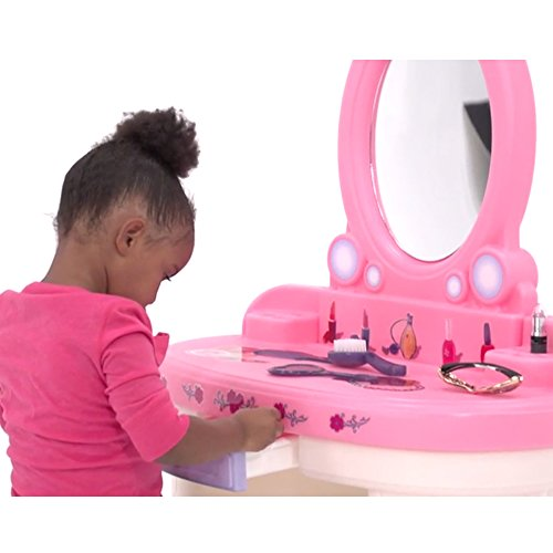 step2 fantasy vanity set for girls buy online in uae toys and games products in the uae. Black Bedroom Furniture Sets. Home Design Ideas