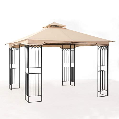 Summer Breeze Soft Top Metal Gazebo*