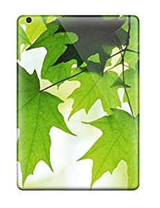 Sanp On Case Cover Protector For Ipad Air (green Leaves) 2888597K89480447