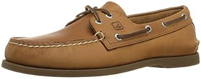 Sperry Top-Sider Men's A/O 2-Eye Boat Shoe,Sahara,8 S US